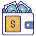 Money Wallet Payment Cash Icon