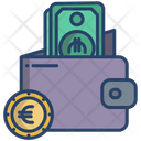 Money Wallet Wallet Purse Icon