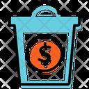 Money Waste Plan Presentation Icon