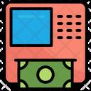 Money Withdraw Cash Machine Atm Icon