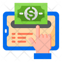 Money Withdraw Atm Machine Payment Icon