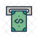 Withdraw Cash Payment Icon