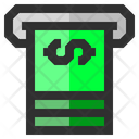 Money Withdrawal Cash Withdrawal Atm Withdrawal Icon