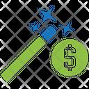 Money Wizard Money Finance Icon