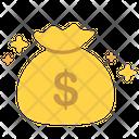 Bag Budget Cash Icon