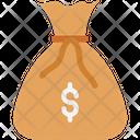 Money Sack Currency Sack Money Bag Icon