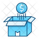 Money Coin Float Icon