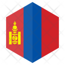 Mongolia Flag Country Icon