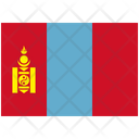 Flag Country Mongolia Icon