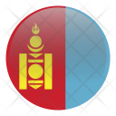 Mongolia Country Flag Icon