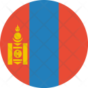 Mongolia Flag World Icon
