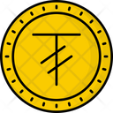 Mongolia Tughrik Coin Money Icon