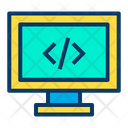 Code Coding Program Icon