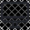 Monitor Computer Tv Icon