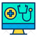 Screen Device Medical Application Icon