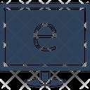 Computer Computer Monitor E Learning Icon
