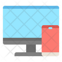 Monitor Phone Link Icon