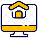 Monitor House Buke Icon