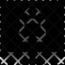 Monitor Lock Sign Icon