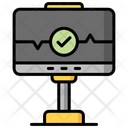 Monitor Screen Manufacturing Icon