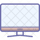 Computer Monitor Tv Icon
