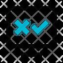 Monitor Test Delete Icon