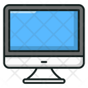 Electronic Monitor Computer Display Icon