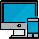 Monitor Smartphone Device Icon