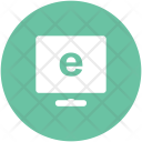 Monitor Computer E Learning Icon