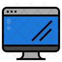Display Computer Monitor Icon