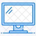 Monitor Screen Television Icon