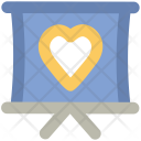Monitor Heart Sign Icon