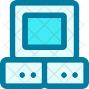 Monitor Space Technology Icon