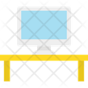 Monitor Table Work Table Icon
