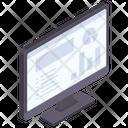 Monitor Computer Statistics Icon