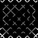 Monitor Graph Computer Icon