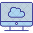 Access Backup Cloud Icon