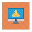 Monitor Screen Account Icon