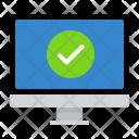 Monitor Okay Technology Icon
