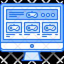 Monitor Website Sale Icon