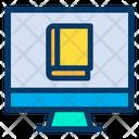 Monitor Book E Book Icon
