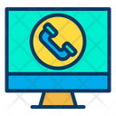 Monitor Call Icon