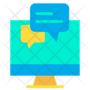 Monitor Chat Icon