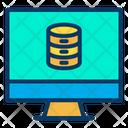 Monitor Data Icon