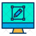 Monitor Design Icon