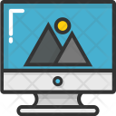 Monitor Display Icon