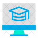 Monitor Education Icon
