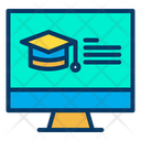 Online Education E Education Online Learning Icon