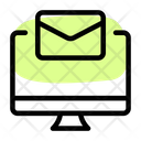 Monitor Email Laptop Email Online Email Icon
