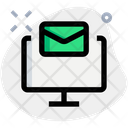 Monitor Email Icon